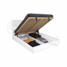 Кровать  Рома 1,6х2,0 подъёмная Мягкая Спинка с каркасом