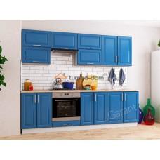 Кухня Софт Premiere синяя океан.