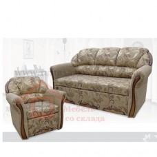 Комплект «Бостон 3» нераскладной (2 кресла+диван)