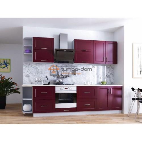 Стильна кухонні меблі лінійки Річ у кольорі Віолетт