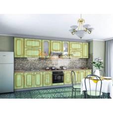 Кухня Платинум золотая патина