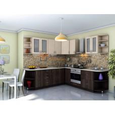 Кухня Модест дуб + венге